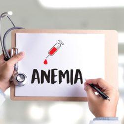 anemia e mancanza di ferro