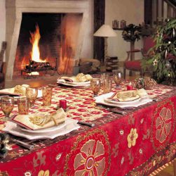perfetta tavola natalizia