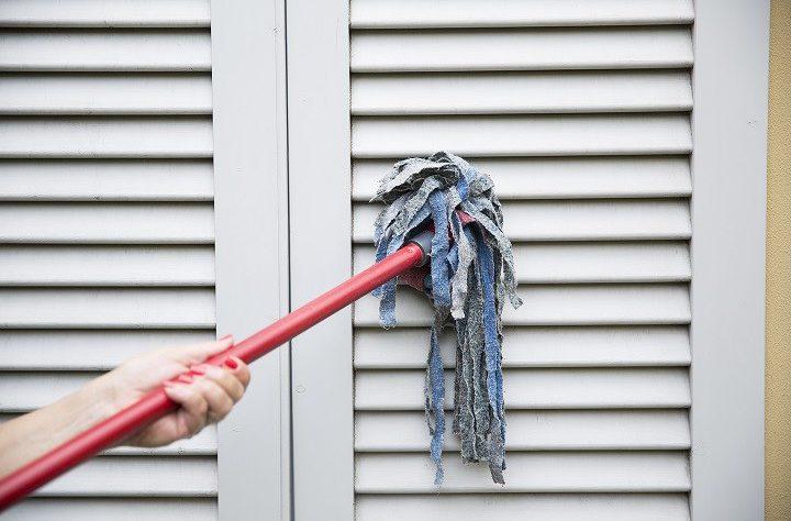come pulire le tapparelle