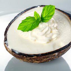 come preparare il gelato al cocco